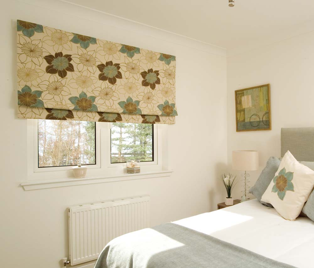 Roman Blinds Contemporary Roman Blinds Bay Window Shutters